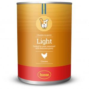 LIGHT консерва с вкусни парченца от пилешкo месо: 400 g