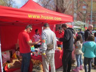 Представяне на Husse в Парк